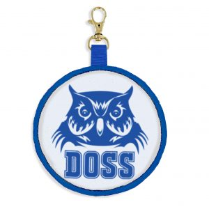 Doss Owl Backpack Tag